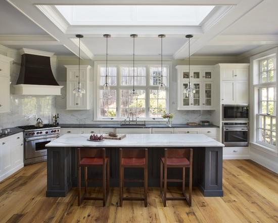 Industrial kitchen design - Kombinacia stareho s novym
