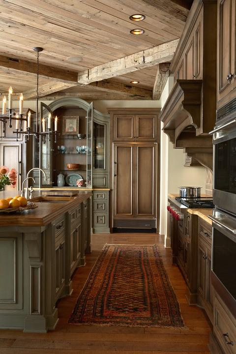Rustikàlna kuchyňa, to je teplo domova - Obrázok č. 28