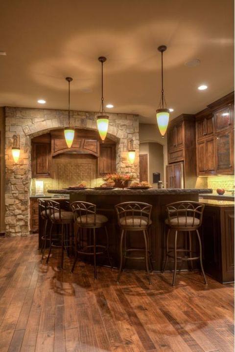 Rustikàlna kuchyňa, to je teplo domova - Obrázok č. 29