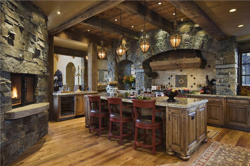 Rustikàlna kuchyňa, to je teplo domova - Obrázok č. 32