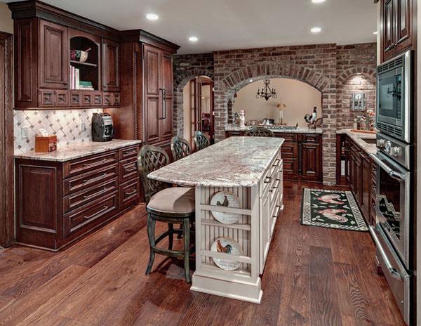 Rustikàlna kuchyňa, to je teplo domova - Obrázok č. 9