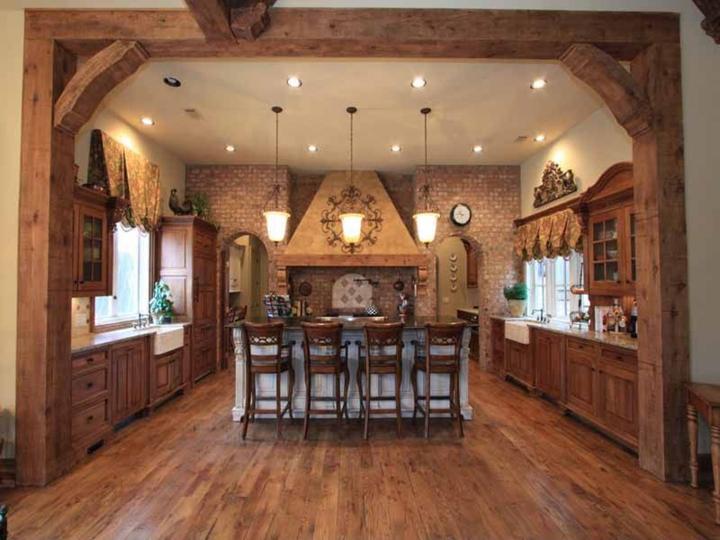 Rustikàlna kuchyňa, to je teplo domova - Obrázok č. 34