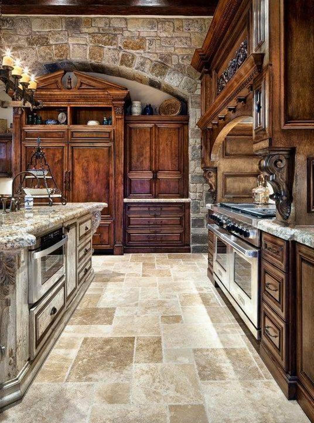 Rustikàlna kuchyňa, to je teplo domova - Obrázok č. 7