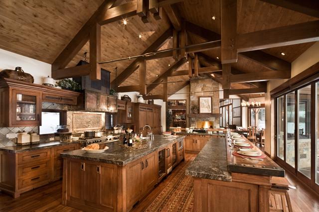 Rustikàlna kuchyňa, to je teplo domova - Obrázok č. 36