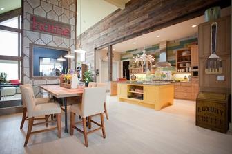 Tuto kuchynu som videla v TV, nenormalne sa mi pacila.. Ten priestor !