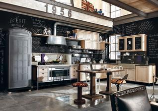 Parádna industry kuchyňa