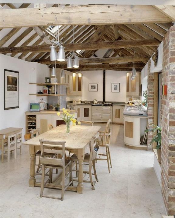Rustikàlna kuchyňa, to je teplo domova - Obrázok č. 6