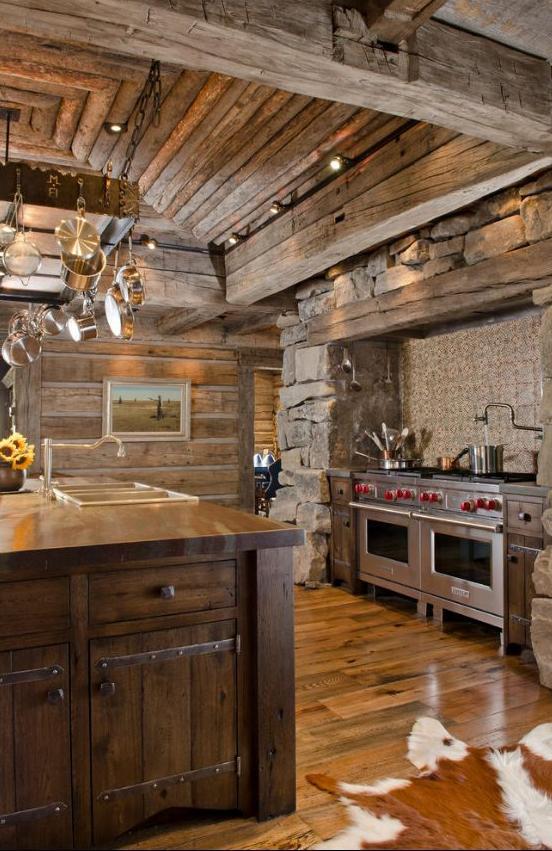 Rustikàlna kuchyňa, to je teplo domova - Obrázok č. 44