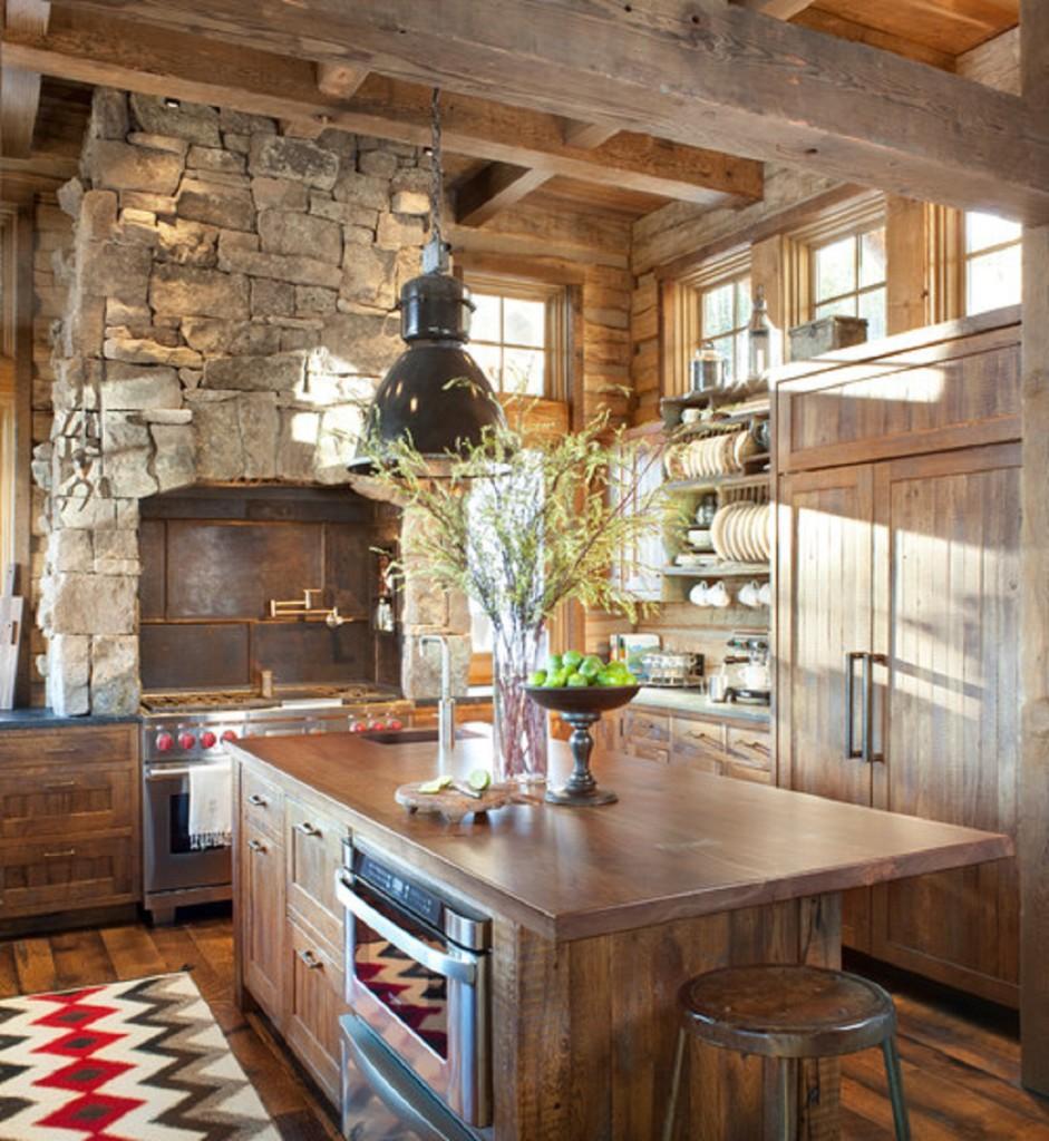 Rustikàlna kuchyňa, to je teplo domova - Obrázok č. 46