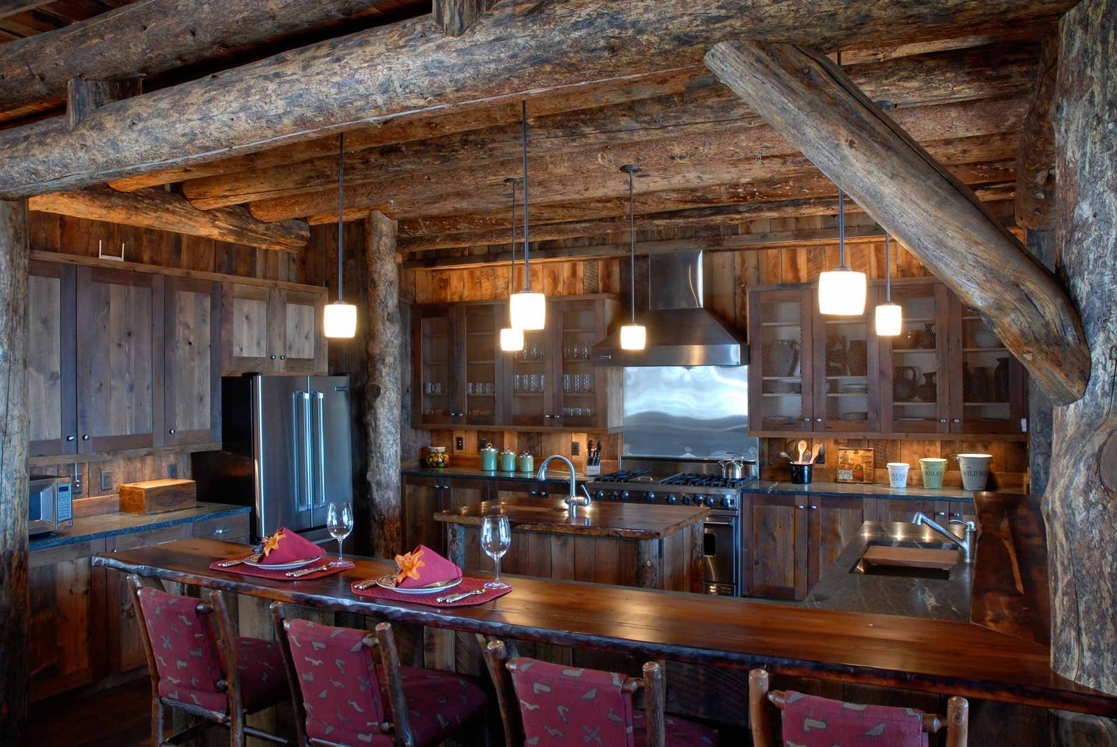 Rustikàlna kuchyňa, to je teplo domova - Obrázok č. 47