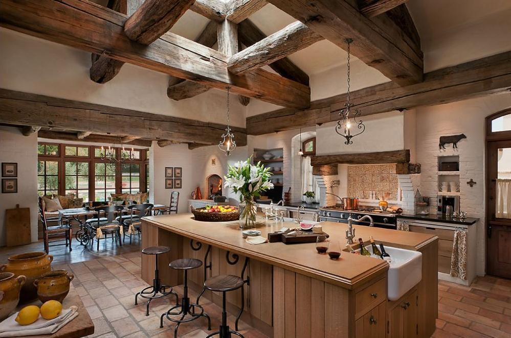 Rustikàlna kuchyňa, to je teplo domova - Obrázok č. 49