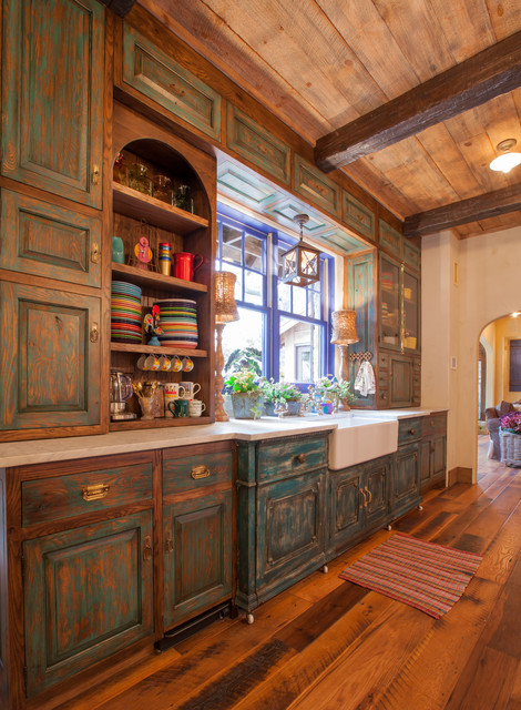 Rustikàlna kuchyňa, to je teplo domova - Obrázok č. 51