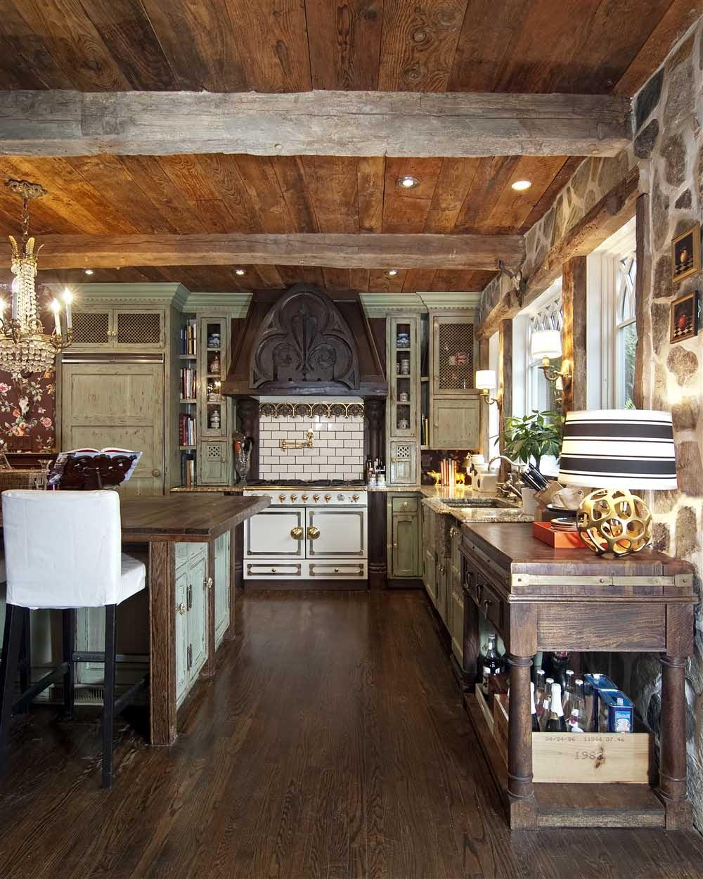 Rustikàlna kuchyňa, to je teplo domova - Obrázok č. 53