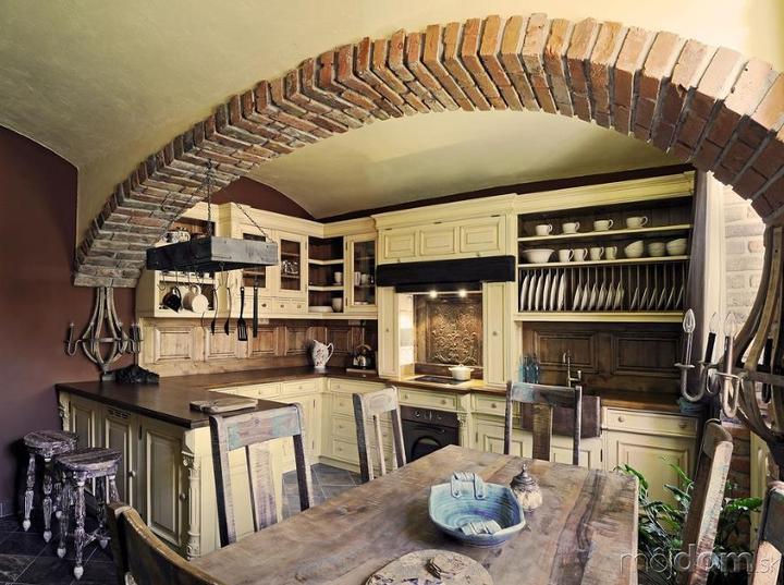 Rustikàlna kuchyňa, to je teplo domova - Obrázok č. 56