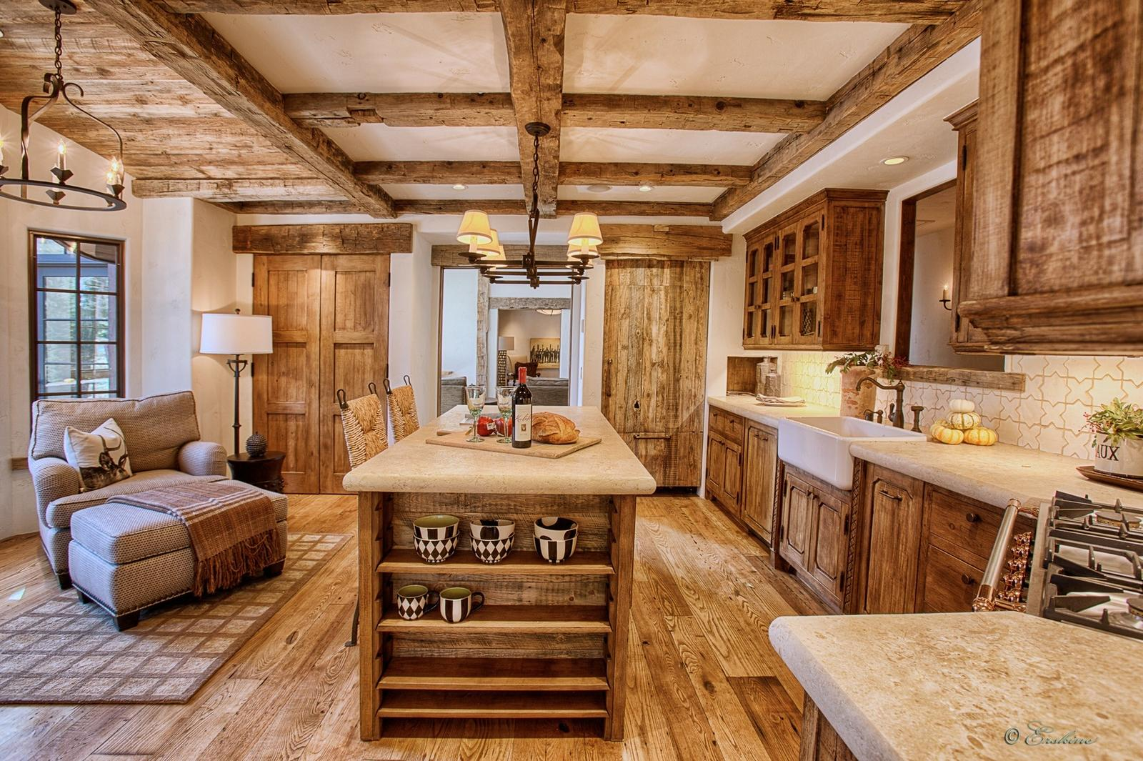 Rustikàlna kuchyňa, to je teplo domova - Obrázok č. 59