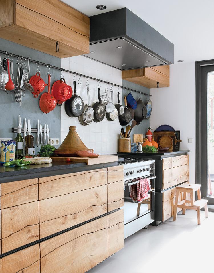 Industrial kitchen design - Ako ozivit priestor panvicami