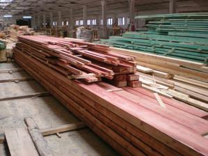 drevo na krov narezané 6 mesiace napred