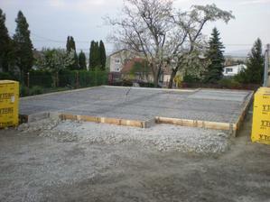 prichystané na betonáž