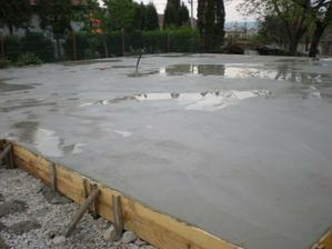 21m3 betónu platňa