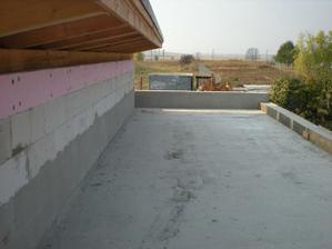 príprava pre izoláciu plochej strechy