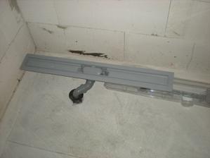 85cm podlahovy žľab