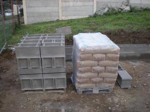 trošku cementu na zajtra