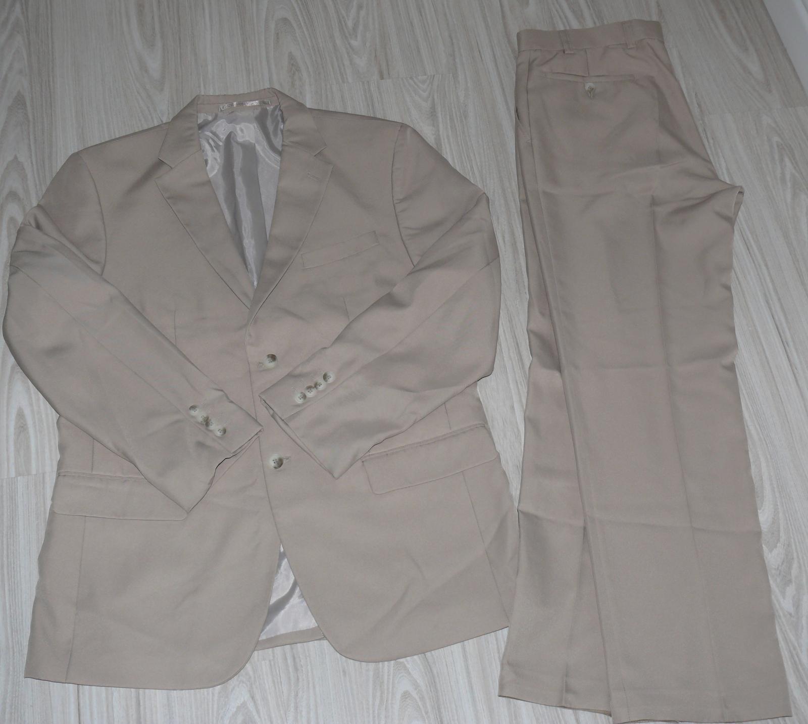 Béžovy pánsky oblek - Obrázok č. 2