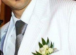 Biely kvalitny svadobny oblek - Obrázok č. 4