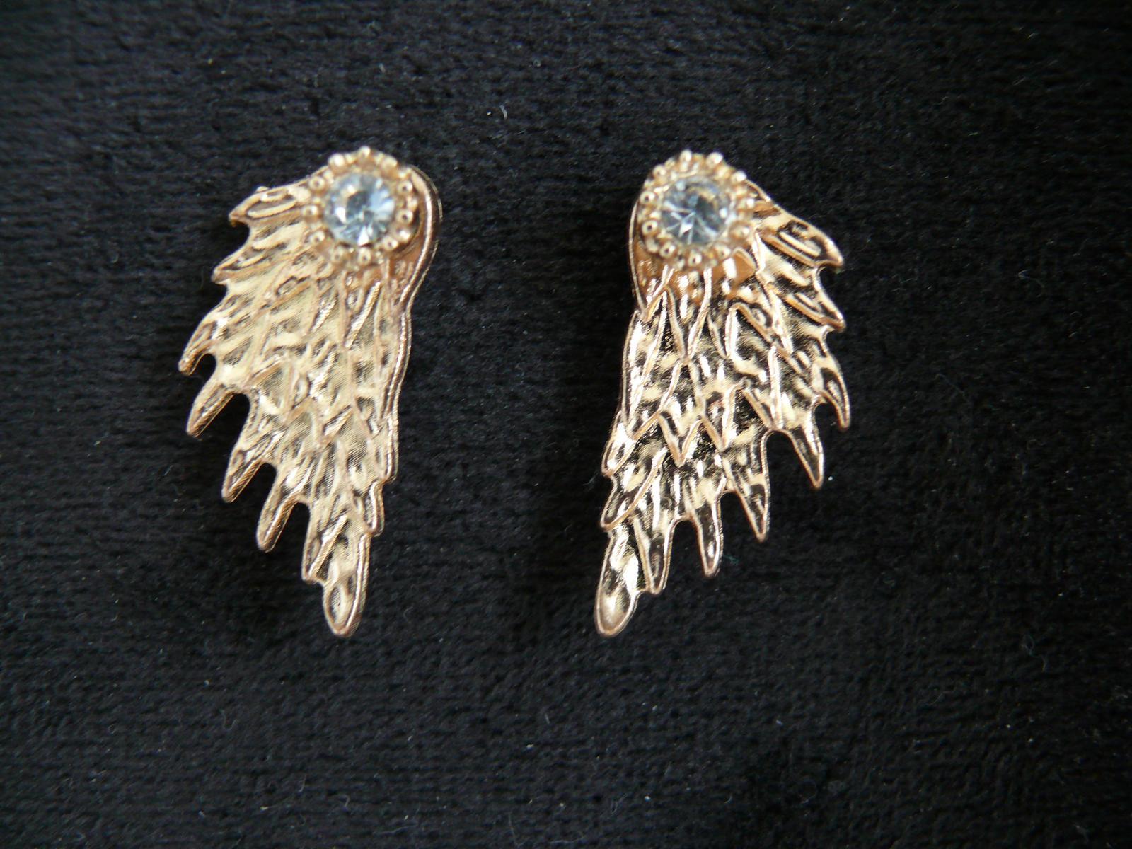 Náusnice anjelské krídla - Obrázok č. 1