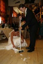 .. první společná práce v manželství :-)