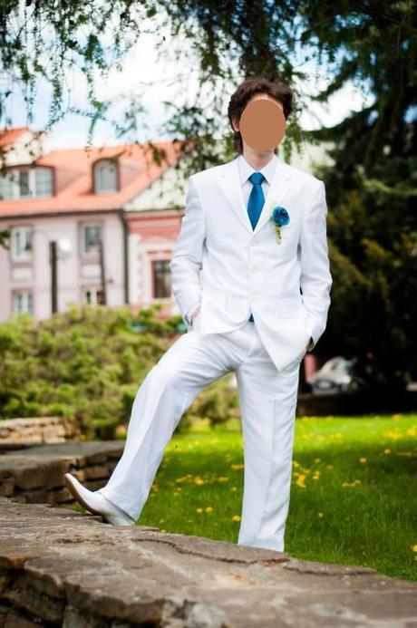 Biely oblek - Obrázok č. 1