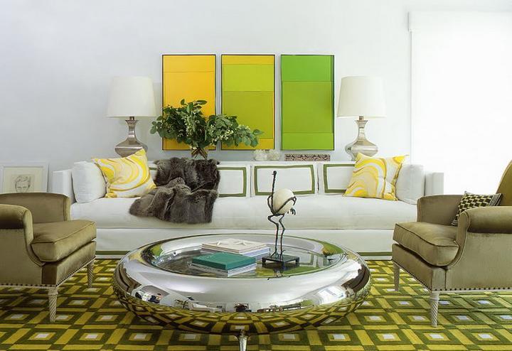 Zelená, kam sa pozrieš - stále decentne a vkusne - Obrázok č. 2