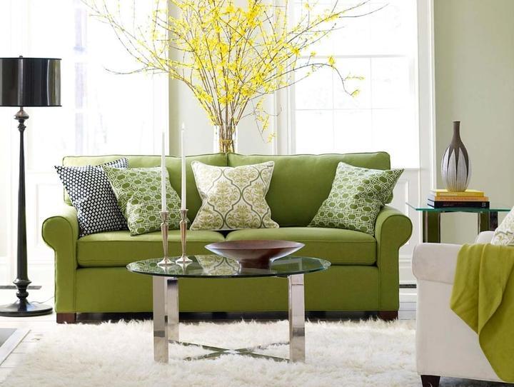 Zelená, kam sa pozrieš - stále decentne a vkusne - Obrázok č. 5