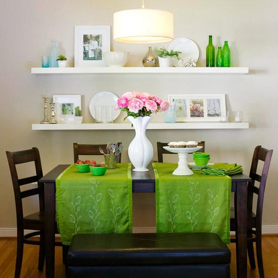 Zelená, kam sa pozrieš - stále decentne a vkusne - Obrázok č. 12