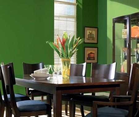 Zelená, kam sa pozrieš - stále decentne a vkusne - Obrázok č. 14
