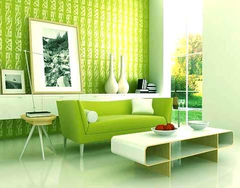 Zelená, kam sa pozrieš - stále decentne a vkusne - Obrázok č. 16