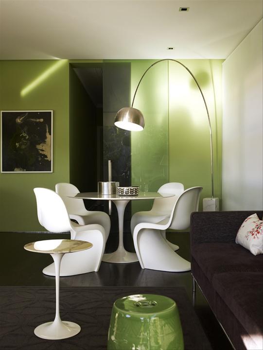 Zelená, kam sa pozrieš - stále decentne a vkusne - Obrázok č. 19