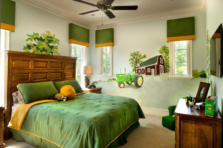 Zelená, kam sa pozrieš - stále decentne a vkusne - Obrázok č. 21