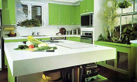 Zelená, kam sa pozrieš - stále decentne a vkusne - Obrázok č. 32