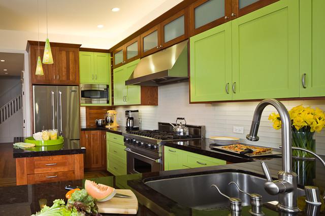 Zelená, kam sa pozrieš - stále decentne a vkusne - Obrázok č. 33