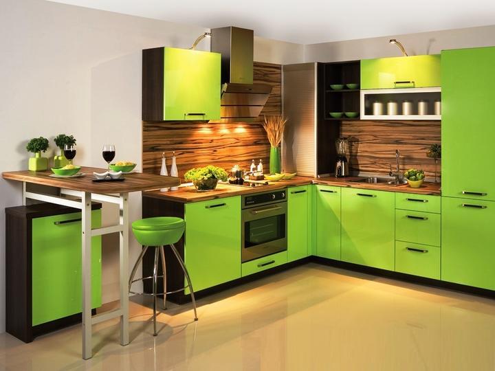Zelená, kam sa pozrieš - stále decentne a vkusne - Obrázok č. 36