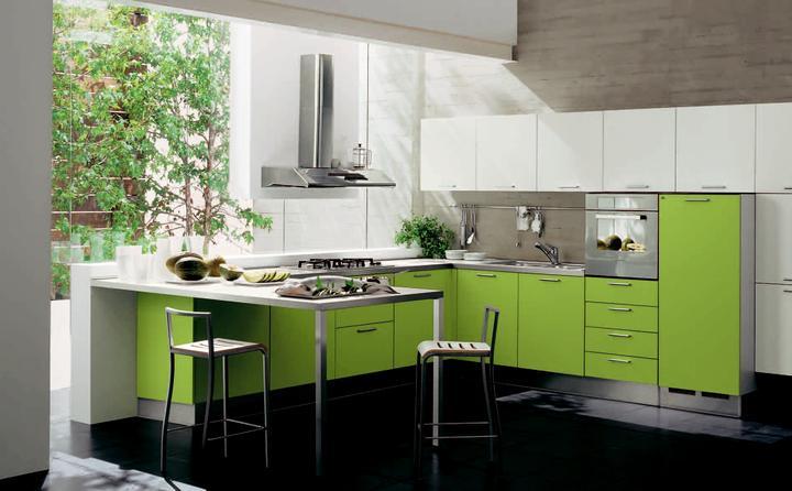Zelená, kam sa pozrieš - stále decentne a vkusne - Obrázok č. 37