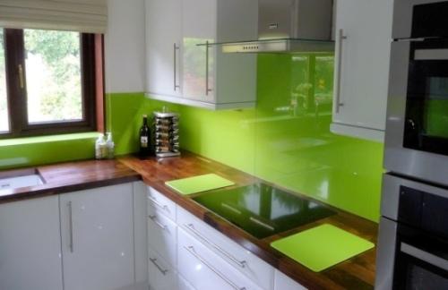 Zelená, kam sa pozrieš - stále decentne a vkusne - Obrázok č. 41