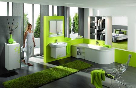 Zelená, kam sa pozrieš - stále decentne a vkusne - Obrázok č. 46