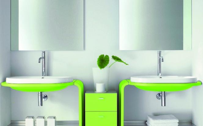 Zelená, kam sa pozrieš - stále decentne a vkusne - Obrázok č. 49