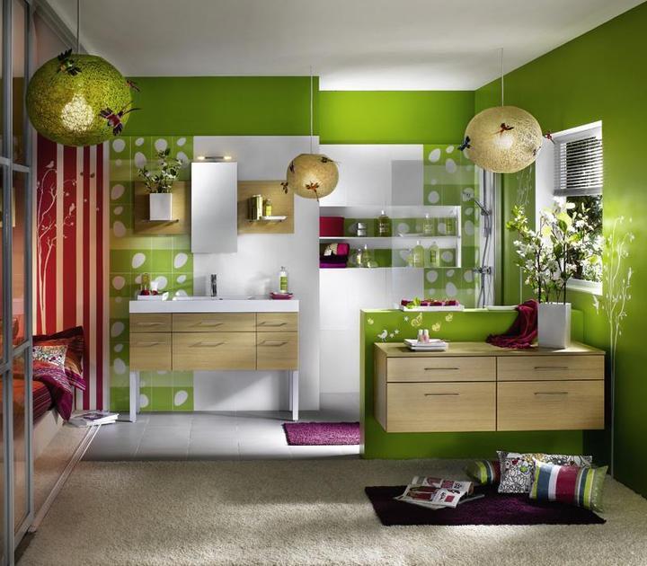 Zelená, kam sa pozrieš - stále decentne a vkusne - Obrázok č. 50