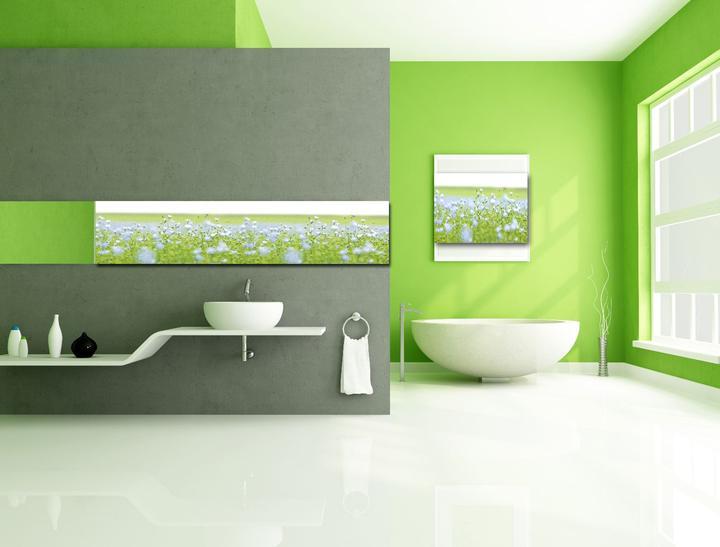 Zelená, kam sa pozrieš - stále decentne a vkusne - Obrázok č. 53