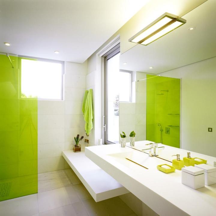 Zelená, kam sa pozrieš - stále decentne a vkusne - Obrázok č. 54