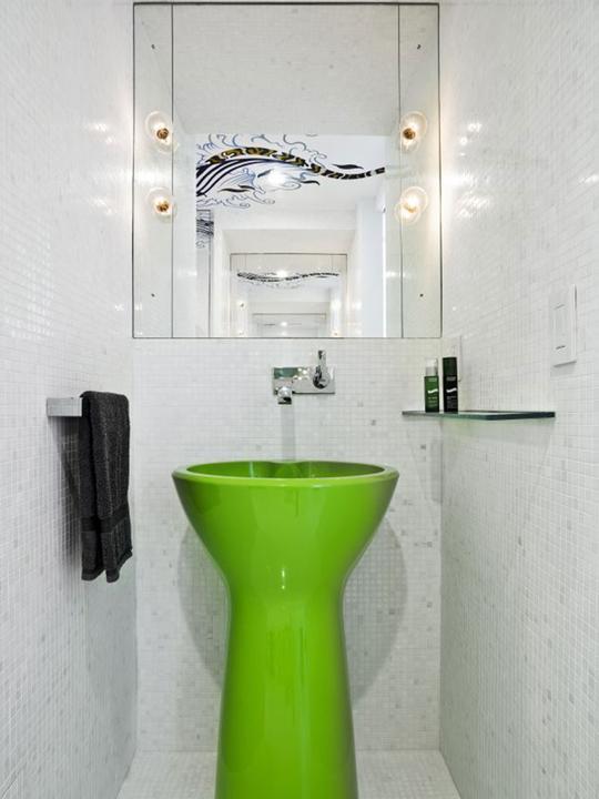 Zelená, kam sa pozrieš - stále decentne a vkusne - Obrázok č. 55