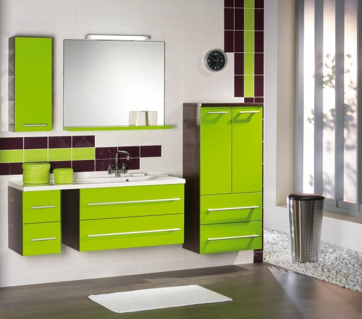 Zelená, kam sa pozrieš - stále decentne a vkusne - Obrázok č. 56